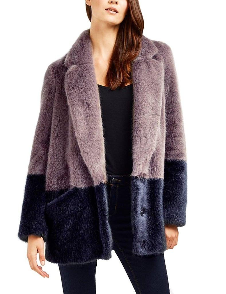 Just Quella Faux Fur Coat