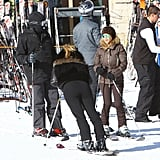 The group traveled to Park City, UT, for a ski trip ahead of New Year's Eve.