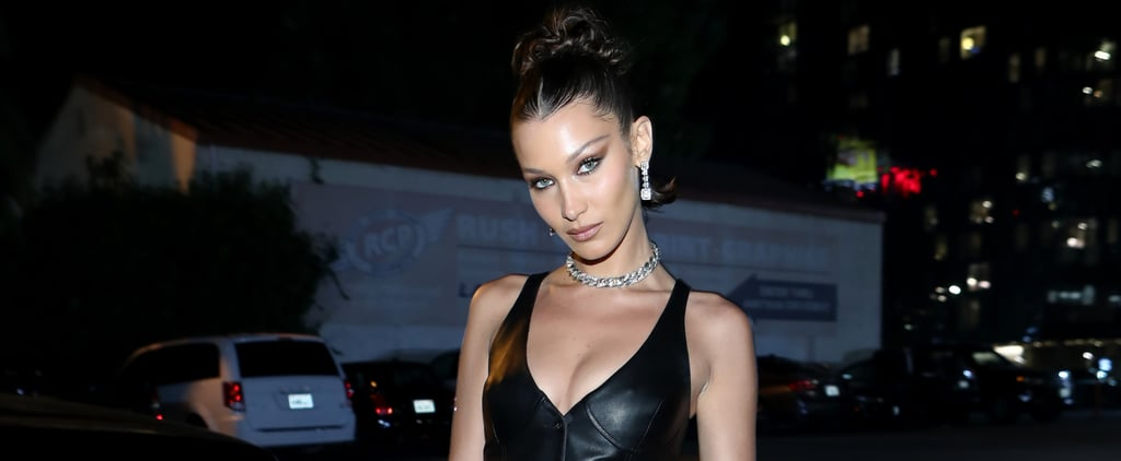 Bella Hadid Wore an All Leather Tommy x Zendaya Look