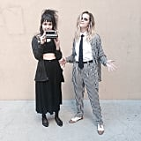Beetlejuice and Lydia From Beetlejuice
