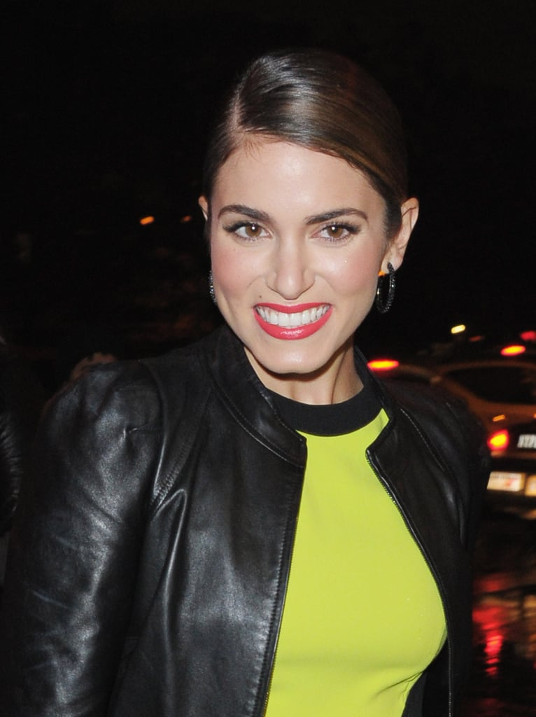 Nikki Reed was all smiles for a night out in NYC.