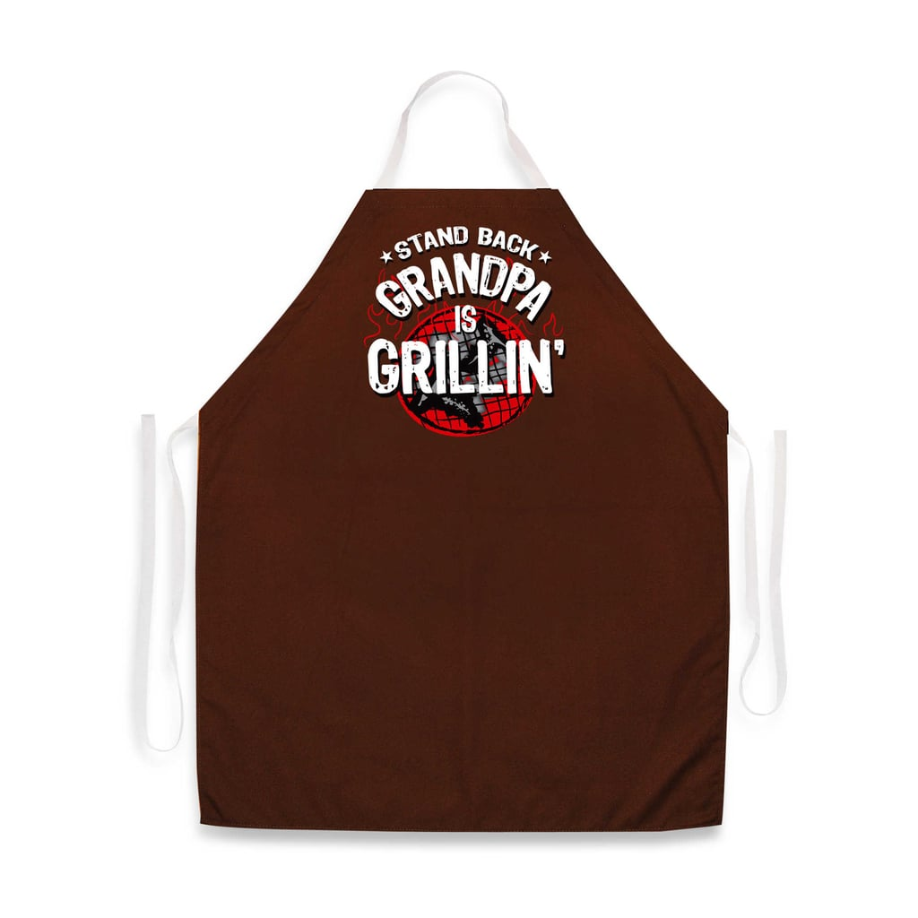 For the Grill Master Grandpa: Grandpa Is Grillin' Apron