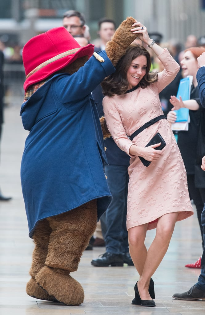 When She Cut a Rug With Paddington Bear