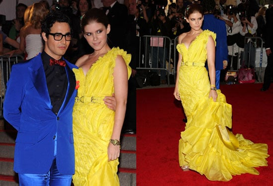 The Met's Costume Institute Gala: Kate Mara