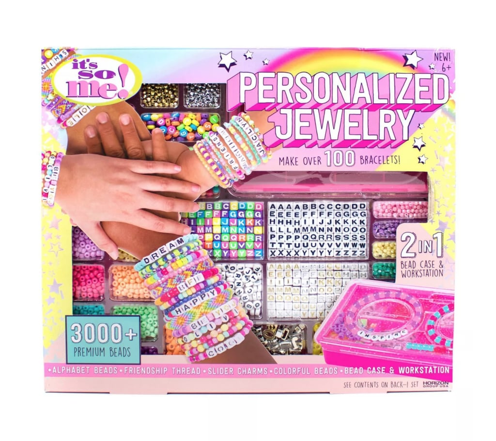 Trendy Gift for Tweens: It's So Me Personalized Jewelry Making Kit