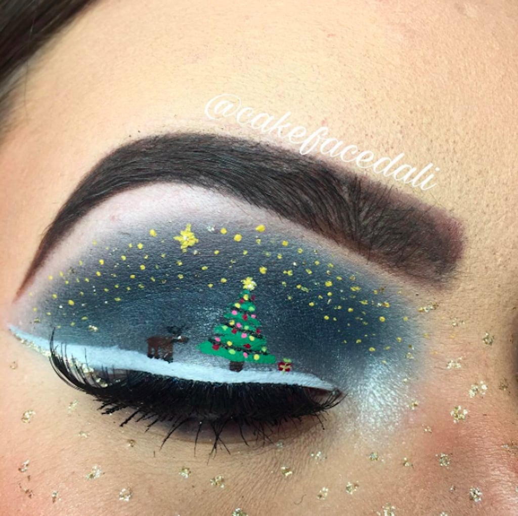 Christmas Makeup From Instagram