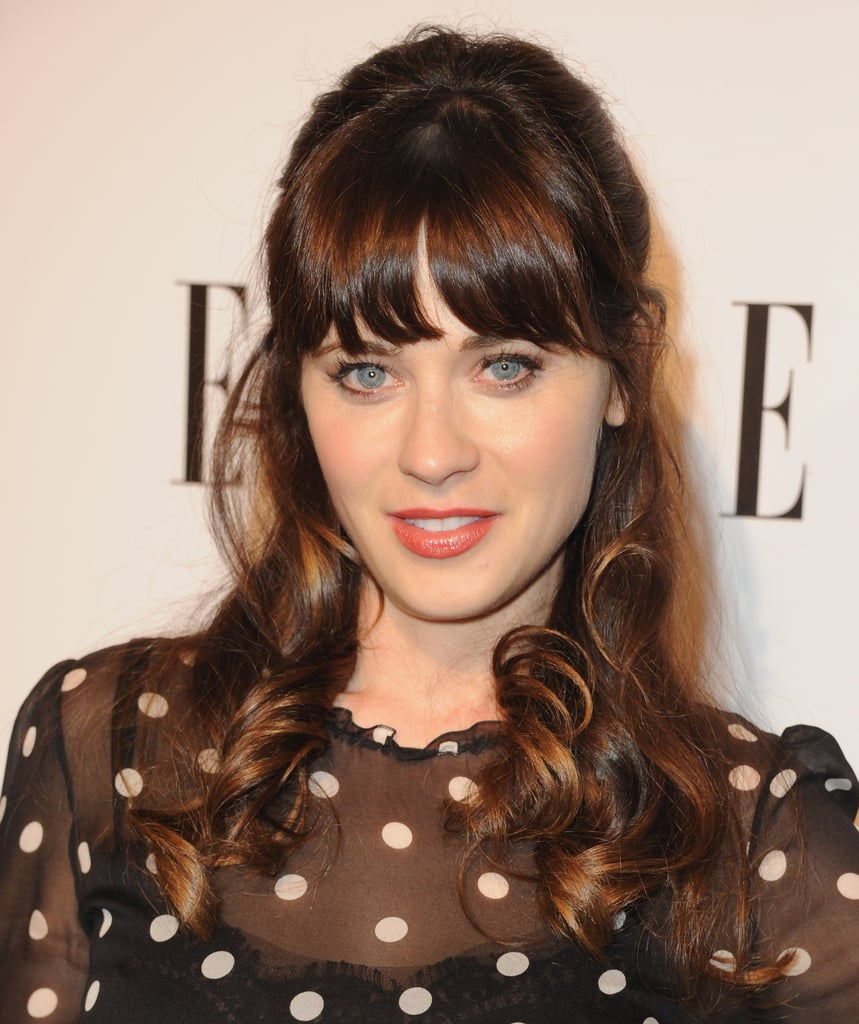 how to wear hair up with a fringe | popsugar beauty uk