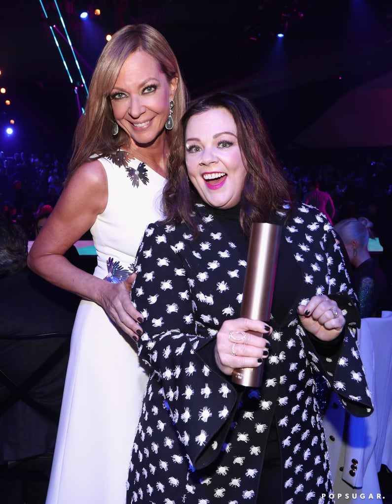 Pictured: Allison Janney and Melissa McCarthy