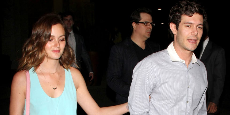 Leighton Meester and Adam Brody Make Their Official Debut
