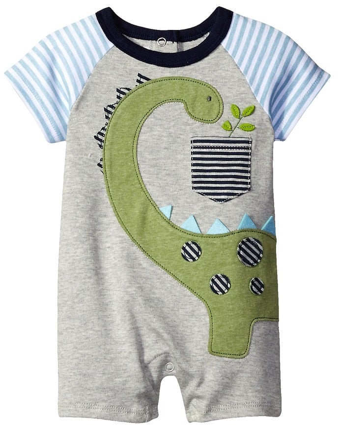 Mud Pie Dinosaur Raglan One-Piece