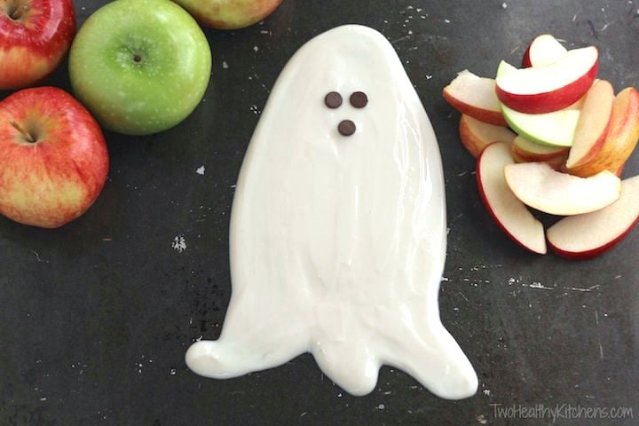 Ghostly Fruit Dip