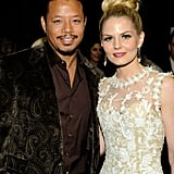 Terrence Howard and Jennifer Morrison