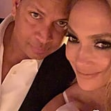 Jennifer Lopez and Alex Rodriguez Engagement Party Pictures