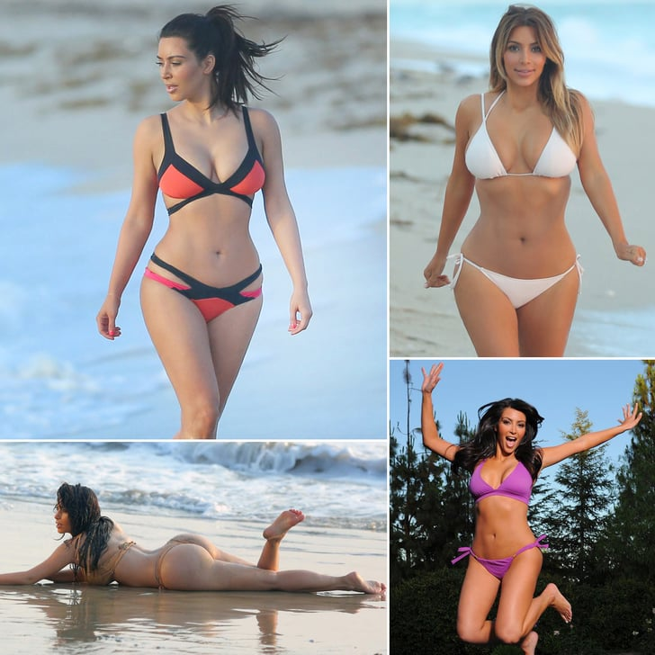 Dangerous Curves Ahead: Over 40 of Kim Kardashian's Hottest Swimsuit Photos