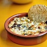 Mushroom Goat Cheese Queso