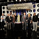 Tina, Alec, Tracy, and Pregnant Jane Celebrate 100 30 Rock Episodes!
