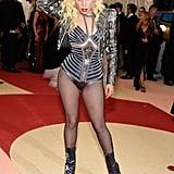 Lady Gaga at the Met Gala 2016