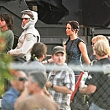 Jennifer Lawrence and cast members filmed The Hunger Games: Catching Fire  in Atlanta.