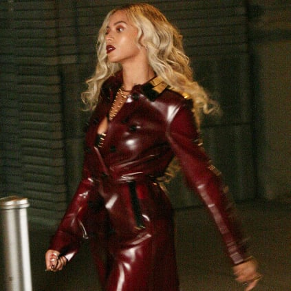 Beyonce Wearing Burberry Trench Coat in Music Video