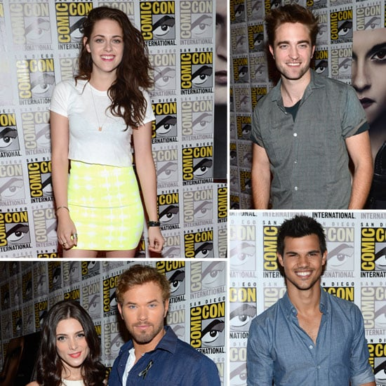 Kristen Stewart and Robert Pattinson Pictures at Comic-Con