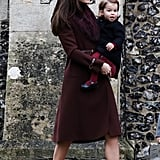 Here's What Kate Middleton Has Worn on Christmas . . .