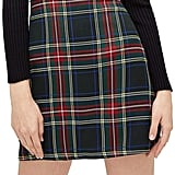 MAKEMECHIC Plaid Skirt