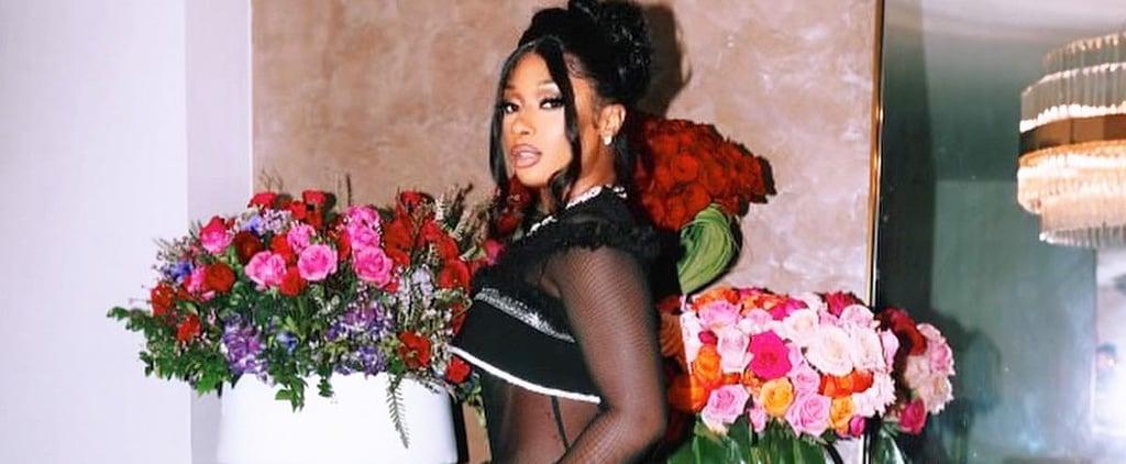 Megan Thee Stallion's Black Christian Siriano Grammys Dress