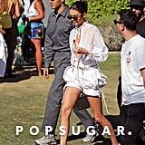 Kendall Jenner Wore Cinderella Heels to Coachella
