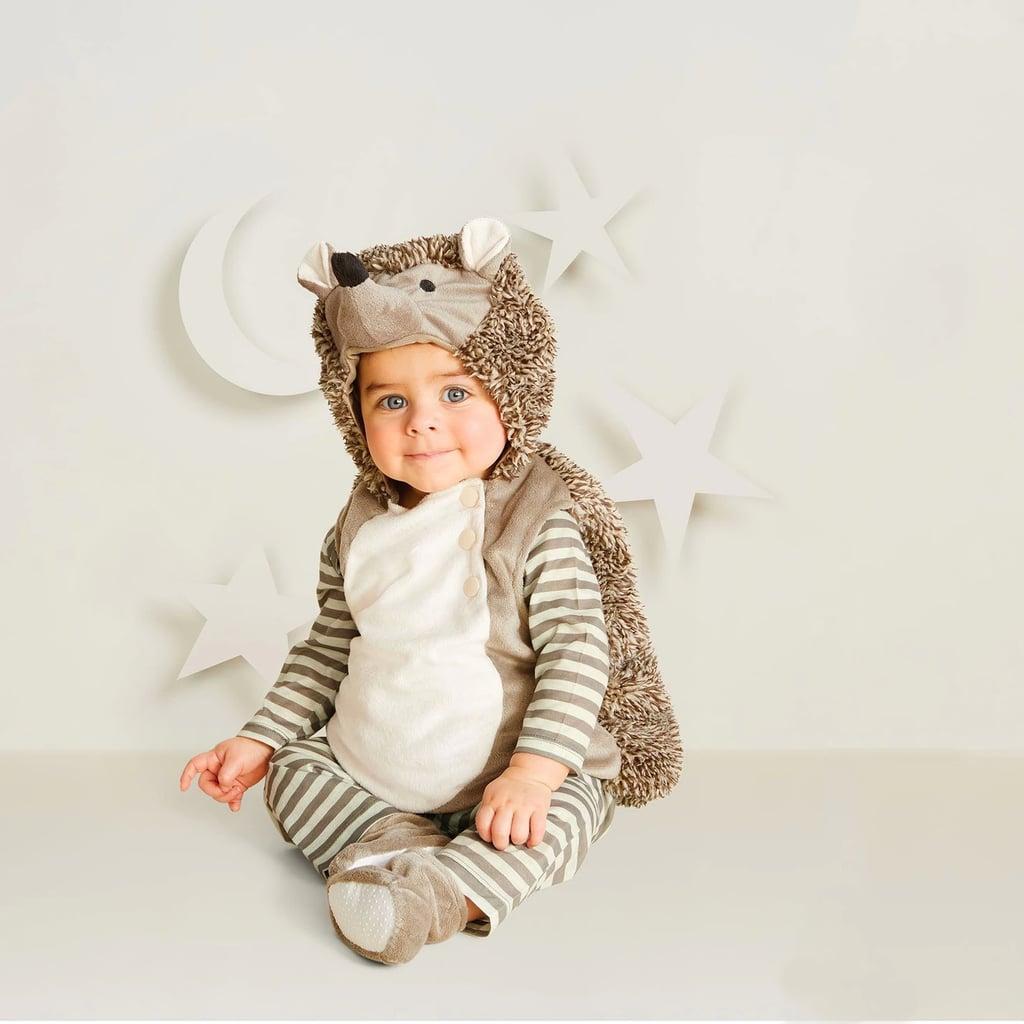 baby plush hedgehog vest halloween costume