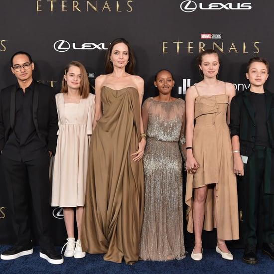 Angelina Jolie's Daughter Wears Her Mom's 2014 Oscars Dress