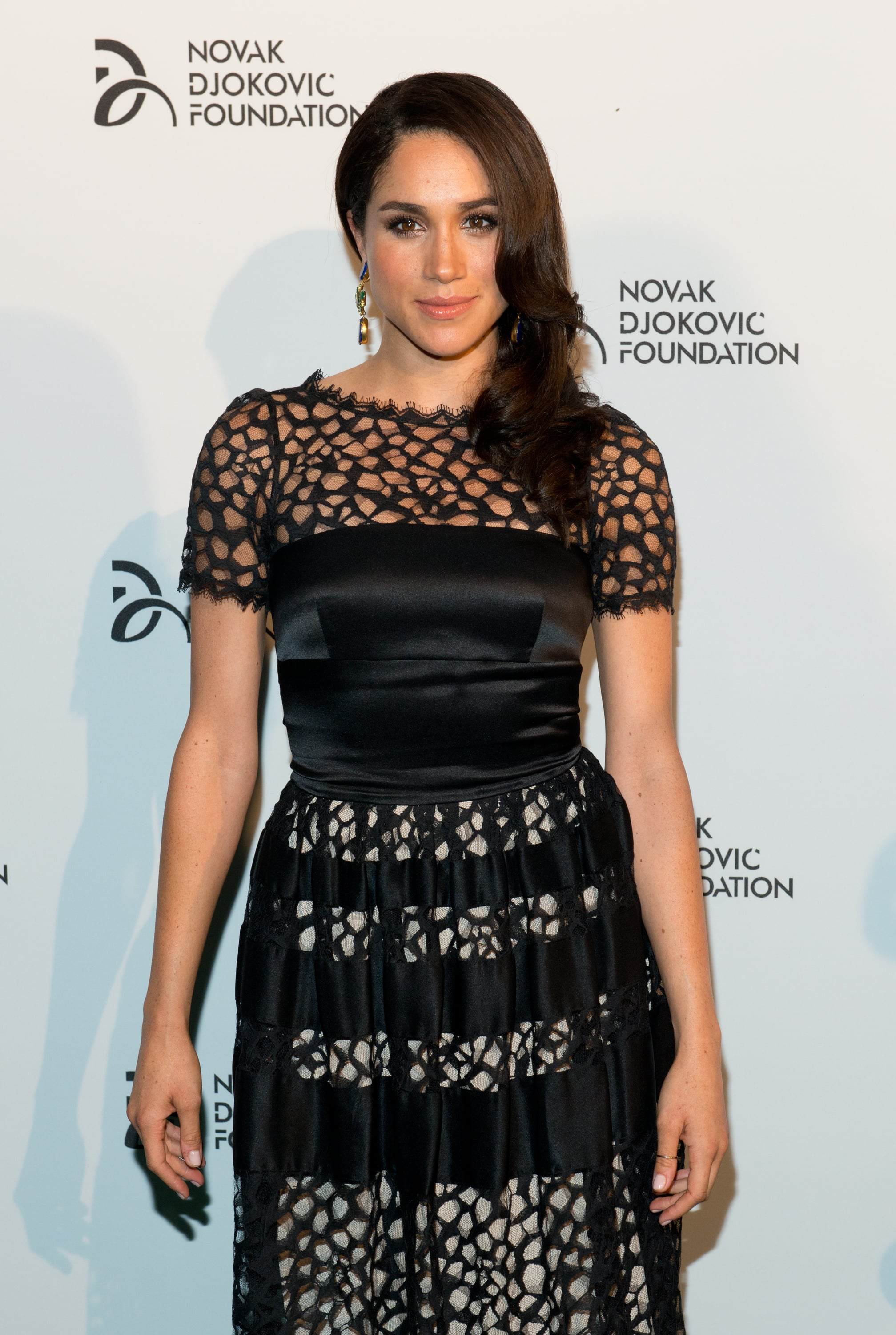 NEW YORK, NY - SEPTEMBER 10: Actress Meghan Markle attends the The 2013 Novak Djokovic Benefit Dinner at Capitale on September 10, 2013 in New York City.  (Photo by Noam Galai/FilmMagic)