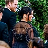 Prince Harry and Meghan Markle at Misha Nonoo's Wedding in Rome
