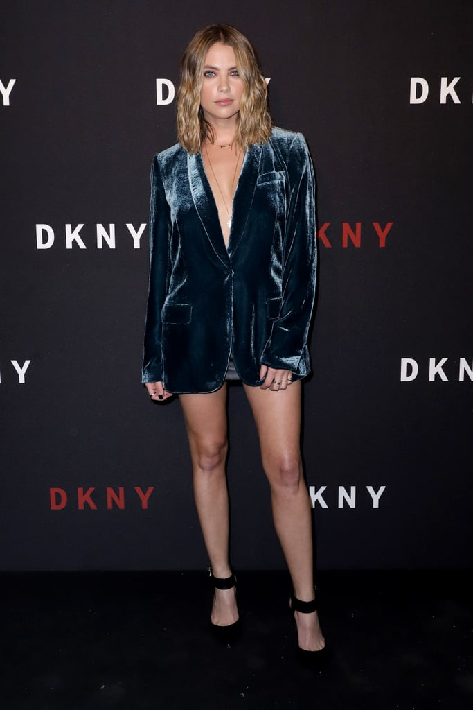Ashley Benson at the DKNY Party During New York Fashion Week