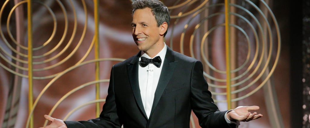 Seth Meyers Did Not Hold Back in His Golden Globes Opening Monologue