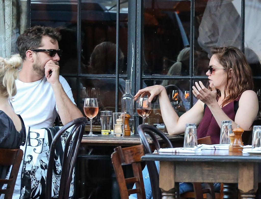 Joshua Jackson and Ruth Wilson star as an ex-couple on the Showtime series The Affair, but on Monday, the pair took their chemistry off screen during an eight-hour drinking session in NYC. Joshua (who is newly single after his split from Diane Kruger) and Ruth posted up at Gemma restaurant at the Bowery Hotel, where they reportedly snacked on cheese and charcuterie and ordered bottles of Rosé and white wine; according to witnesses, the costars drank until the Summer afternoon turned into a Summer night, roughly from 3-11 p.m. By the end of the evening, they were spotted snapping photos with fans and even enveloping their waiter into a group hug. Josh and Ruth are likely gearing up for the third season of their drama series, which is premiering in November — coincidentally, we're gearing up for our own eight-hour wine-athon, which is premiering this weekend and which will likely involve an equal amount of drama.