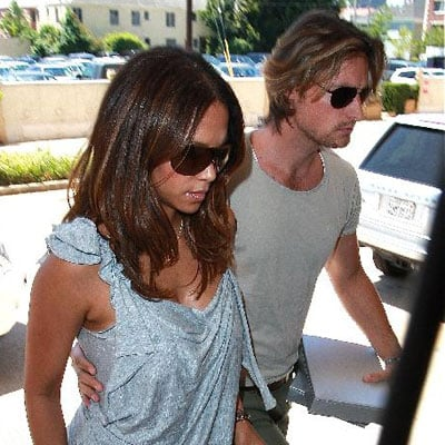 Halle Berry and Gabriel Aubry Go to Fred Segal