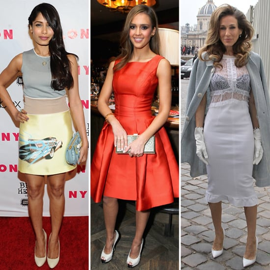 Celeb Trend Alert! White Pumps Are Strutting All Over Hollywood
