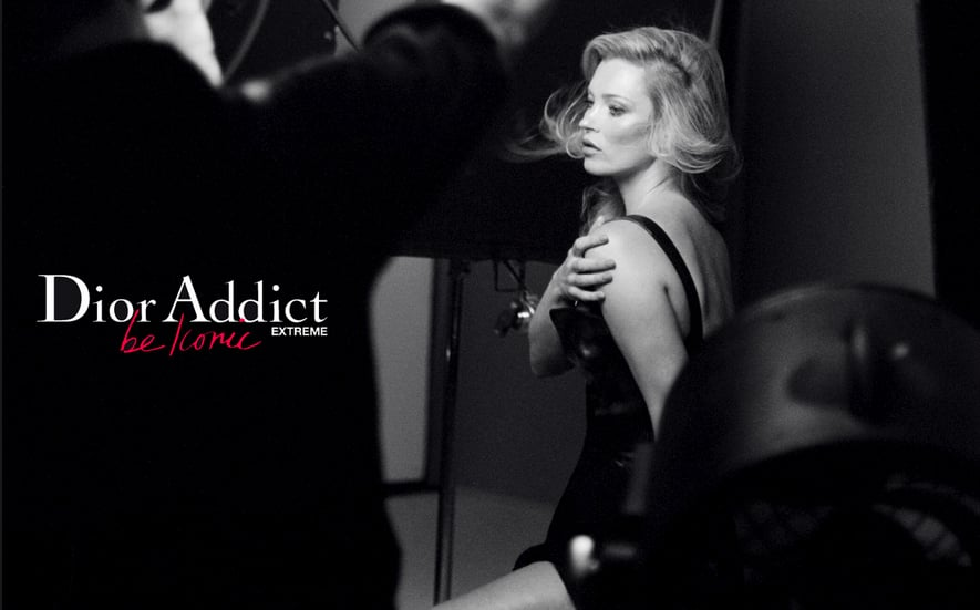 Kate Moss Dior Addict Extreme Campaign Pictures