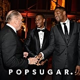Robert Duvall, Victor Cruz, and Michael Strahan