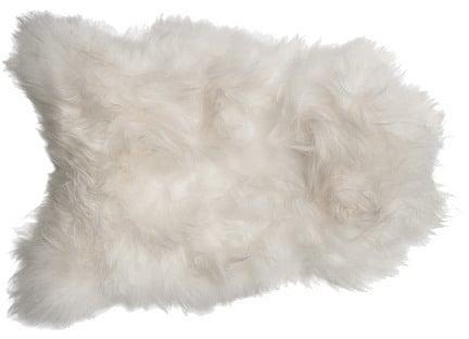 Sheepskin Rug, White ($299)