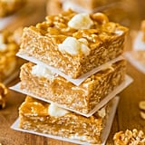 No-Bake Peanut Butter Marshmallow Cereal Bars