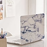 "Urban Outfitters White Marble 15"" Laptop Cover"