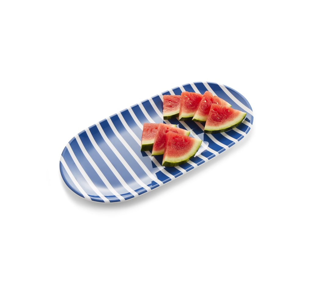 Crate U0026 Barrel X Draper James Stripe Platter ...