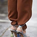Sandals Trend 2019: Architectural Heels