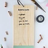 DIY Chalkboard To-Do List