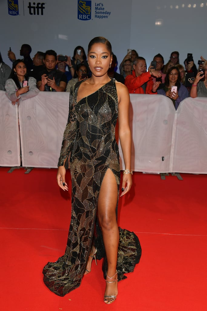 Keke Palmer at the Hustlers Premiere in Toronto