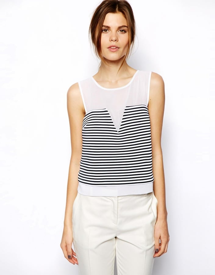 ASOS Striped Top