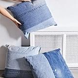 Urban Renewal Reclaimed Denim Throw Pillow