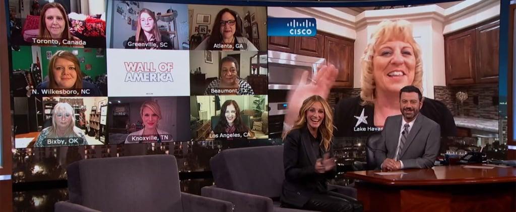 Julia Roberts Meets Other Julia Roberts on Kimmel Nov. 2015