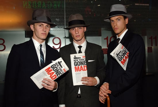 Photos From Mad Men Season Three Premiere Screening in New York's Times Square